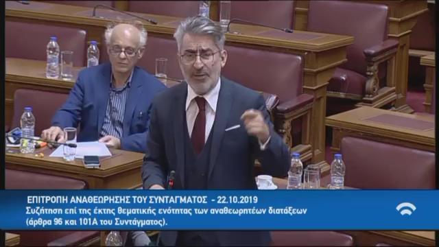 Ανταλλαγή απόψεων με τον Υπουργό Γ. Γεραπετρίτη