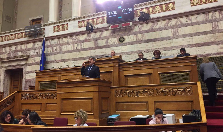 Θ. Ξανθόπουλος: Ερώτηση 62 βουλευτών για τις πολιτικές της κυβέρνησης που προκαλούν μεγάλες απώλειες εσόδων στα ασφαλιστικά Ταμεία και θέτουν εν κινδύνω την βιωσιμότητα του e-ΕΦΚΑ.