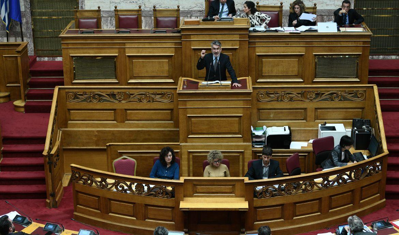 Θ. Ξανθόπουλος: Ερώτηση για το περιεχόμενο της συμφωνίας μεταξύ του υπουργείου Δικαιοσύνης και του Ευρωπαϊκού Οργανισμού Δημοσίου Δικαίου
