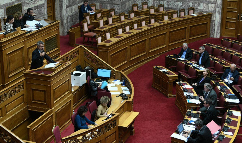 Ερωτήματα για ενδεχόμενες ποινικές εμπλοκές βουλευτών ΝΔ-μελών της Προανακριτικής Επιτροπής
