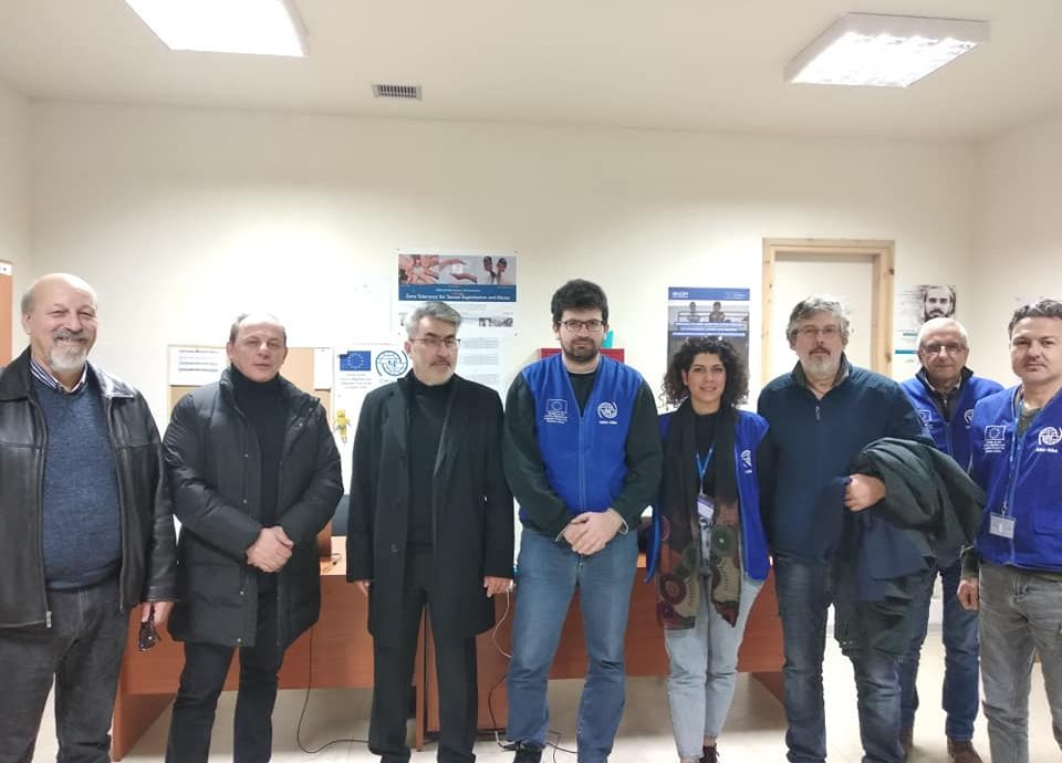 Επίσκεψη αντιπροσωπείας του ΣΥΡΙΖΑ Δράμας και του βουλευτή Θ. Ξανθόπουλου στη Δομή φιλοξενίας προσφύγων και μεταναστών στην ΒΙ.ΠΕ