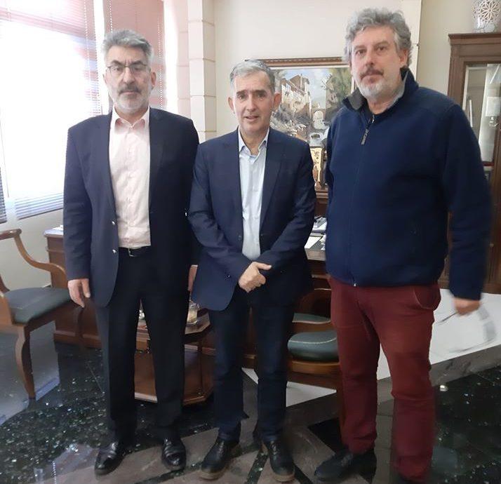 Συνάντηση με τον Πρόεδρο του Επιμελητηρίου Δράμας, Στ. Γεωργιάδη-Ενημέρωση για τη πτώση του τζίρου και την αύξηση των εισφορών-Στήριξη στις νεοφυείς επιχειρήσεις