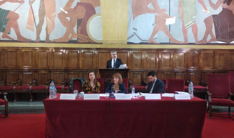 Συμμετοχή του βουλευτή Θ. Ξανθόπουλου σε εκδήλωση Προσομοίωσης του Κοινοβουλίου από το Κέντρο Ευρωπαϊκού Συνταγματικού Δικαίου (φωτο)