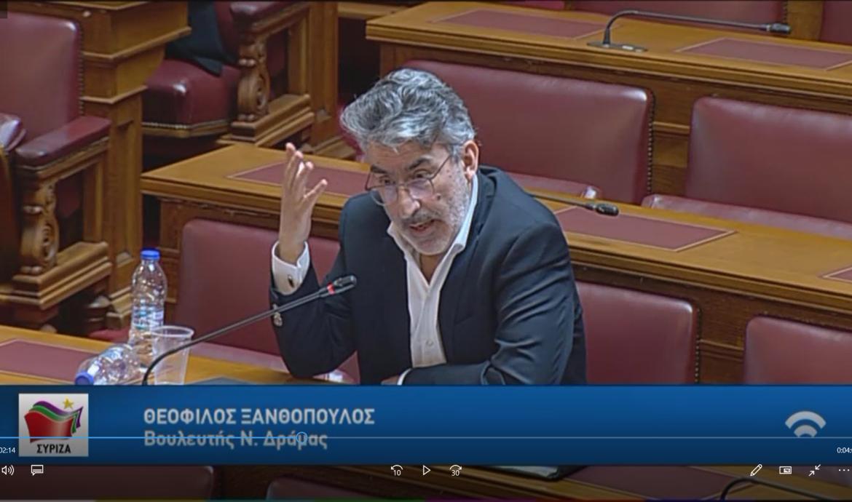 Θ. Ξανθόπουλος: Αμεσες θεσμικές παρεμβάσεις, ενίσχυση δομών-προσωπικού και δράσεις στη κοινωνία για την αντιμετώπιση των φαινομένων ενδοοικογενειακής βίας και βίας κατά των γυναικών