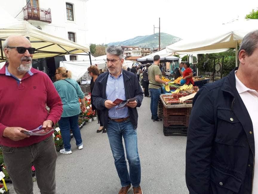 Περιοδεία στη Προσοτσάνη: Ο λαός πρέπει να μείνει όρθιος