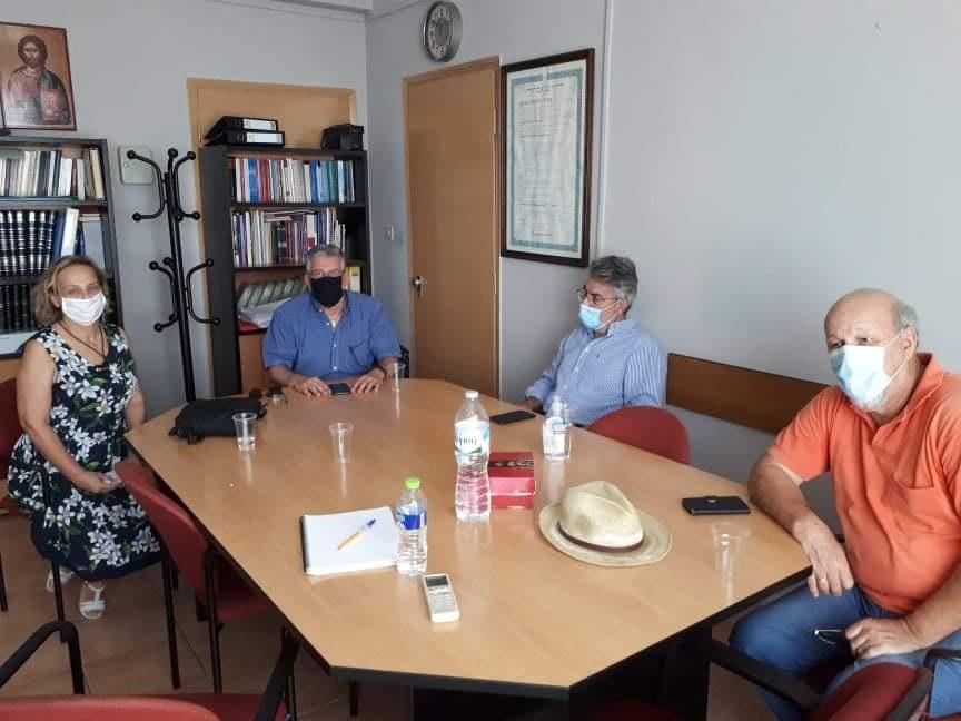 Επισκέψεις του βουλευτή Δράμας Θ. Ξανθόπουλου