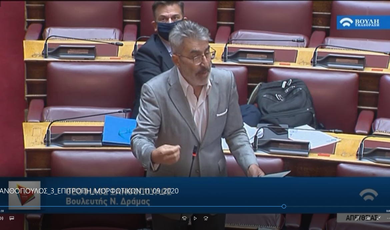 Θ. Ξανθόπουλος: Βαριά η πολιτική ευθύνη της κυβέρνησης των «αρίστων» για το φιάσκο με τις μάσκες στα σχολεία