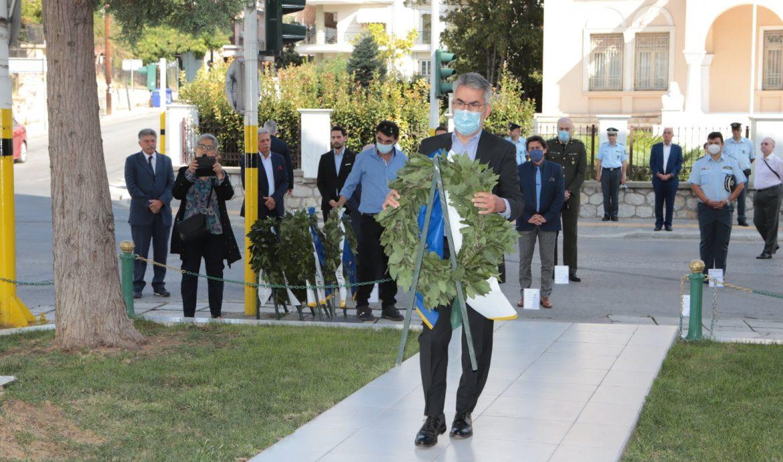 Ημέρα μνήμης θυμάτων Μικρασιατικής Καταστροφής-Κατάθεση στεφάνου
