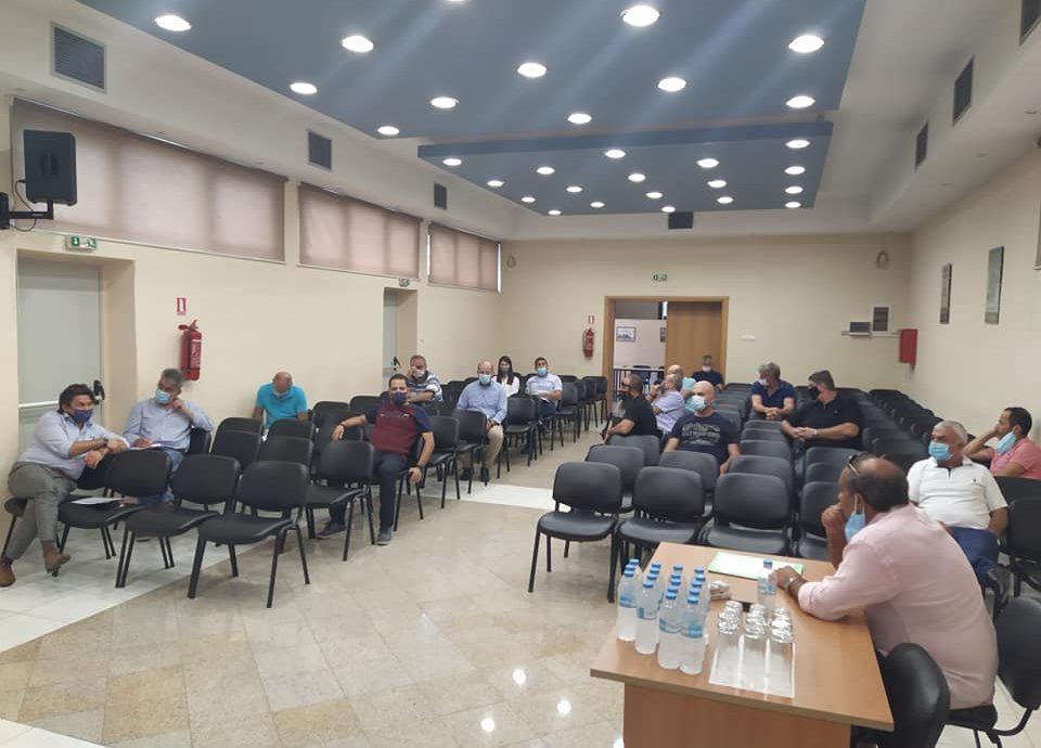Συμμετοχή σε σύσκεψη στο Εργατικό Κέντρο Δράμας για τα εργατικά δυστυχήματα, μετά τον τραγικό θάνατο εργαζομένου σε λατομείο του Βώλακα-Μέτρα προστασίας και στελέχωση ελεγκτικών αρχών