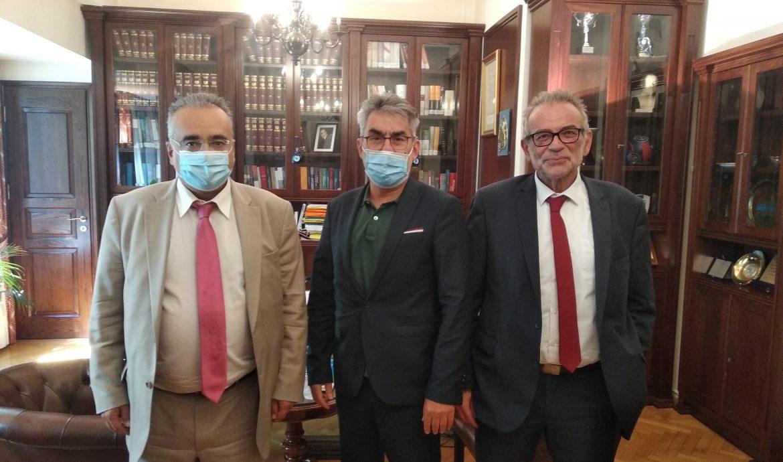 Συνάντηση του τομεάρχη Δικαιοσύνης της Κ.Ο του ΣΥΡΙΖΑ-Προοδευτική Συμμαχία με αντιπροσωπεία του προεδρείου της Ολομέλειας των Δικηγορικών Συλλόγων Ελλάδας