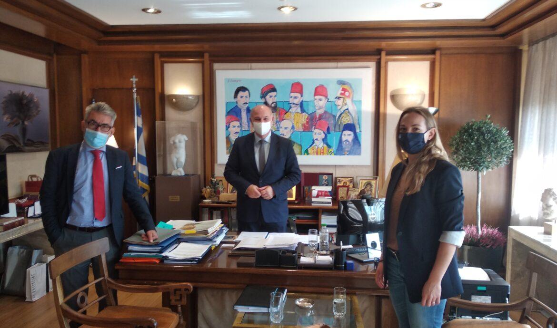 Ενημερωτική συνάντηση Θ. Ξανθόπουλου-Ειρ. Αγαθοπούλου με τον υπουργό Δικαιοσύνης-Τα θέματα συζήτησης