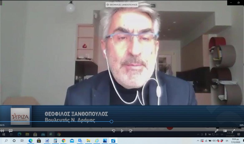 Θ. Ξανθόπουλος: Ζήσαμε επίδειξη ακραίου αυταρχισμού -Το Σύνταγμα δεν επιτρέπει αυθαίρετους περιορισμούς-Η χώρα δεν είναι φέουδο κανενός