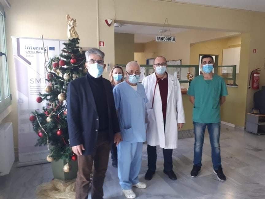 Θ. Ξανθόπουλος: Ολοκλήρωση επισκέψεων στα Κέντρα Υγείας της Περιφερειακής Ενότητας Δράμας-Στήριξη των υγειονομικών του δημόσιου συστήματος υγείας