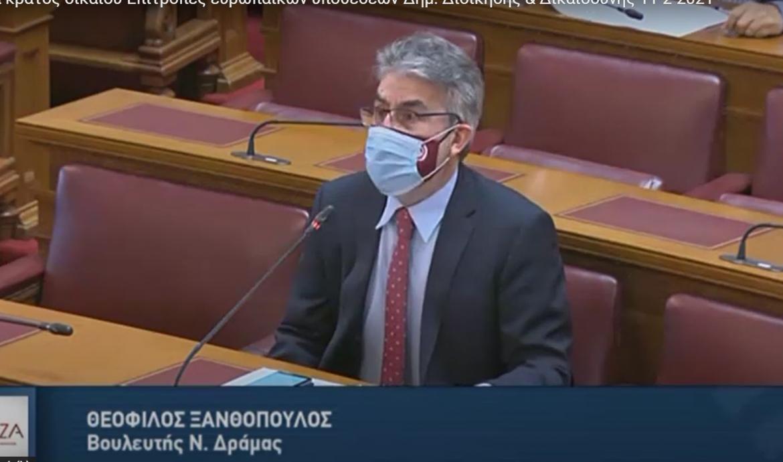 Θ. Ξανθόπουλος: Απολύθηκαν οι καθαρίστριες από το Κέντρο Κοινωνικής Πρόνοιας Αν. Μακεδονίας Θράκης-Χωρίς προσωπικό καθαριότητας  300  χρονίως πάσχοντες και ανάπηρα παιδιά-Ερώτηση βουλευτών