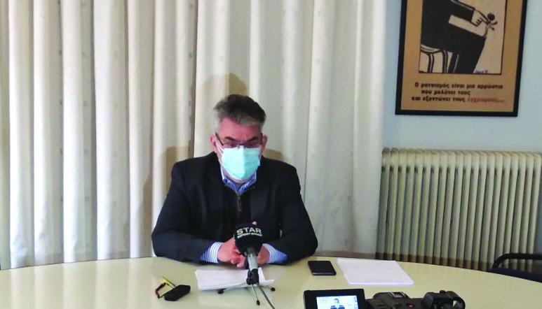 Θ. Ξανθόπουλος-Συνέντευξη στα ΜΜΕ της Δράμας: «Η κυβέρνηση δεν ελέγχει πια την κατάσταση»