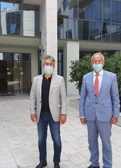 Θ. Ξανθόπουλος στον Ι. Σαρμά, πρόεδρο Ελεγκτικού Συνεδρίου: Ουσιαστικός έλεγχος για τα χρήματα του Ταμείου Ανάκαμψης και τις απ' ευθείας αναθέσεις